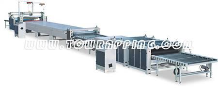 TC-G(1350/1600)金属板专业覆膜生产线