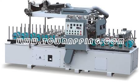 TCB-600门芯板专用覆膜机